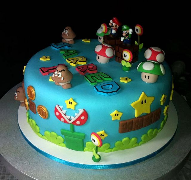 Best 25 Super Mario Cake Ideas On Pinterest