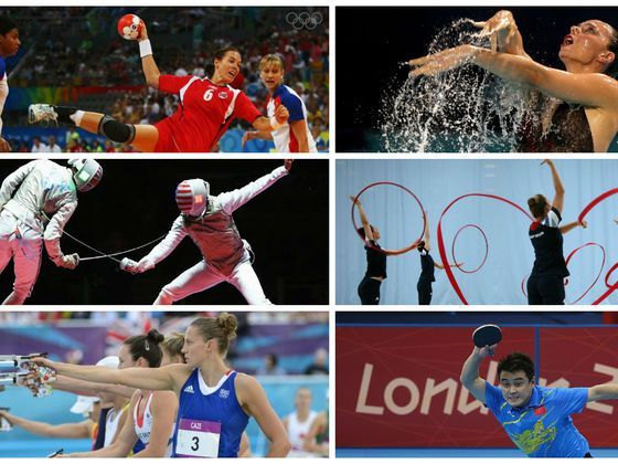 Which Random Olympic Sport Were You Built For?
