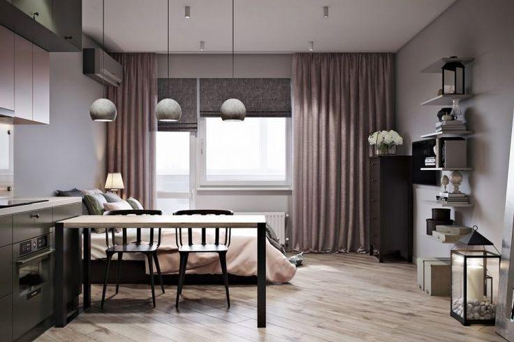 1. kis lakás pasztell színekkel - 30m2