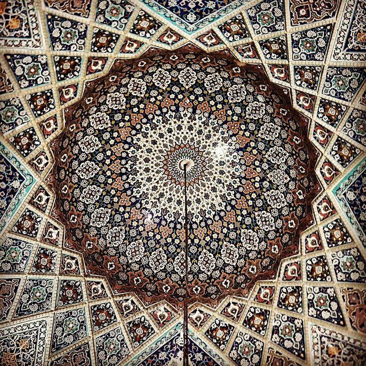Les Plafonds étonnants de l'Architecture iranienne (13)