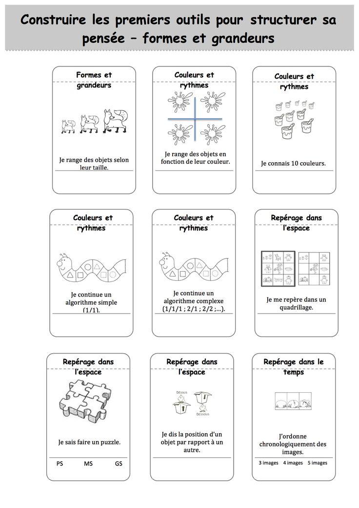 Exceptionnel 55 best carnet de suivi et evaluations en maternelle images on  ZD52