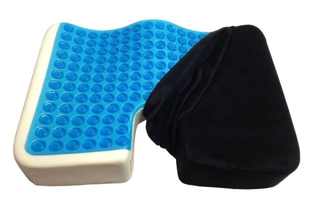 This gel seat cushion ($22) for your booty. | 23 Car Accessories You Never Knew You Needed