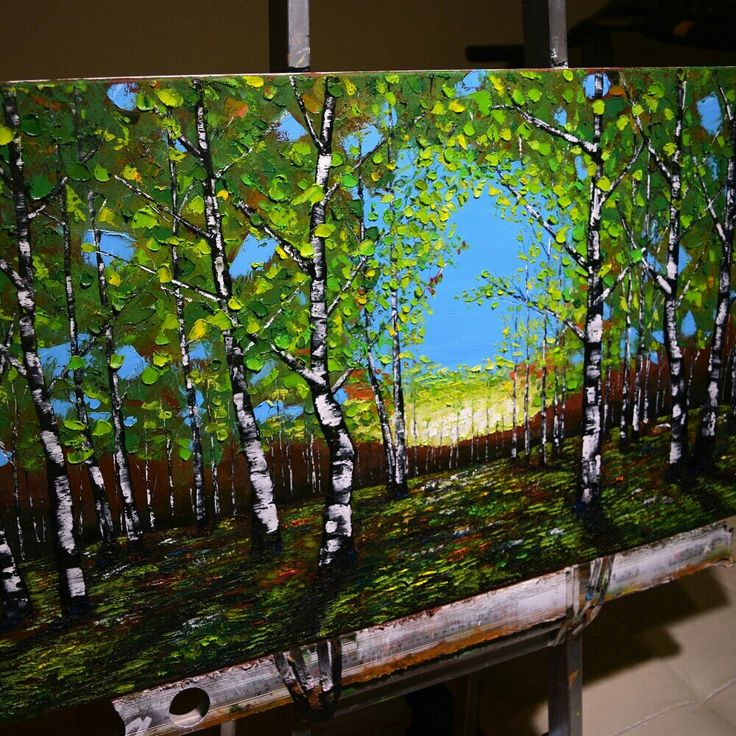 A new painting for you, made by us. You can have a similar one. Just search for it on our etsy shop.