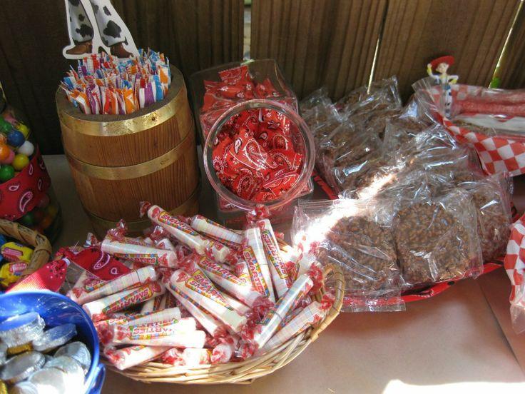 Jessie Western Candy Buffet Candy Buffets Pinterest