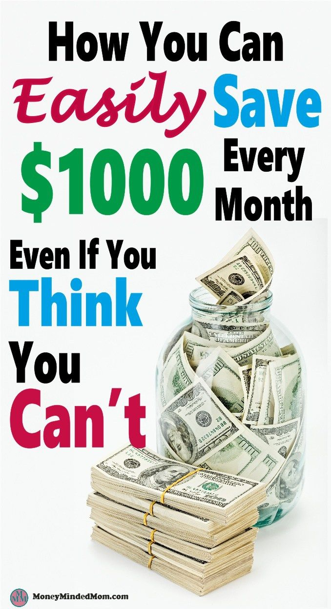 Saving an extra $1000 a month might seem like an impossible task, but it really isn't. Small changes go a long way to saving money, balancing your budget and managing money.