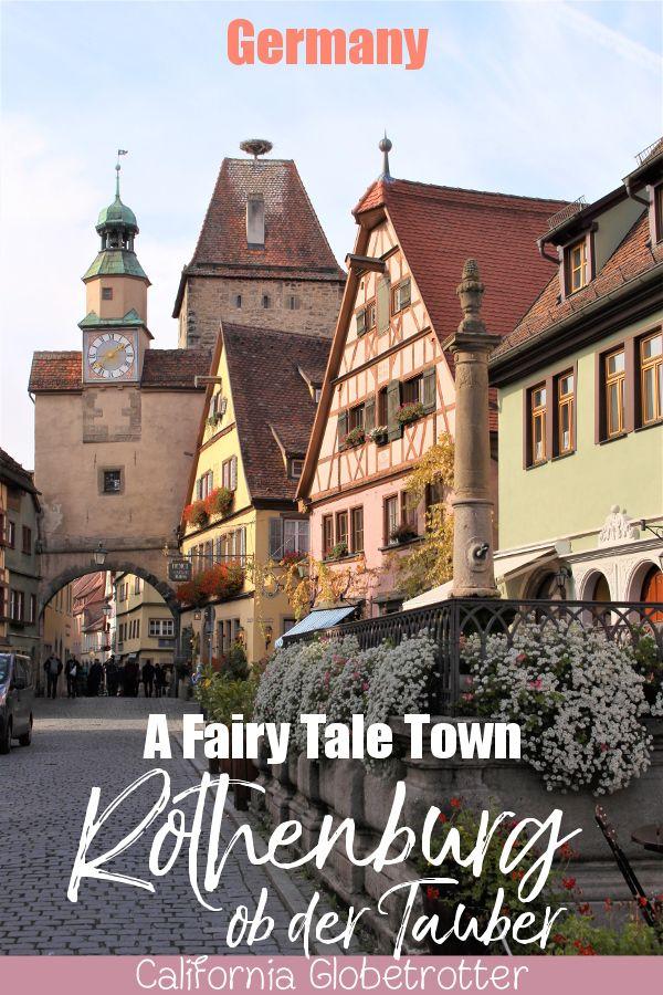 Rothenburg ob der Tauber – A Fairy Tale Town   Beautiful Half-timbered Towns in … – Half-Timbered Towns