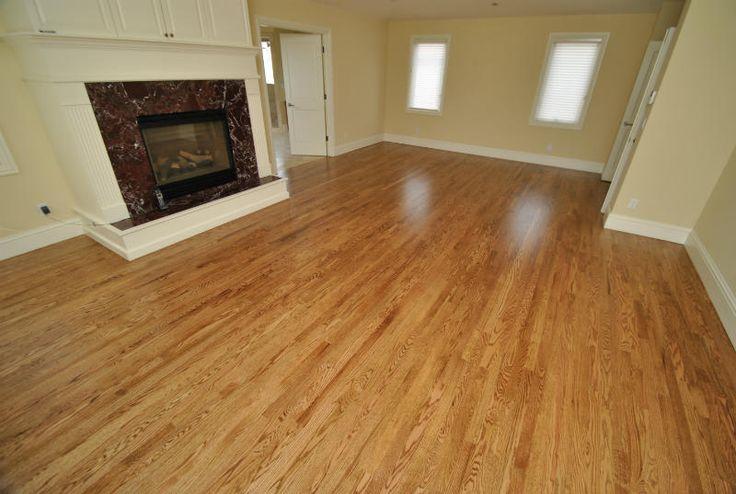 Oak hardwood flooring red oak stain nutmeg all city for Hardwood floors denver
