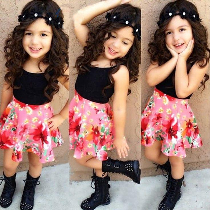 $13.88 (Buy here: https://alitems.com/g/1e8d114494ebda23ff8b16525dc3e8/?i=5&ulp=https%3A%2F%2Fwww.aliexpress.com%2Fitem%2FSlip-Vest-Tops-Flower-Printed-Skirt-2016-New-Kids-Summer-Clothing-Sets-Girls-Ball-Gown-Suits%2F32651960623.html ) Slip Vest Tops + Flower Printed Skirt 2016 New Kids Summer Clothing Sets Girls Ball Gown Suits For 1-5Ages Vestido De Festa for just $13.88