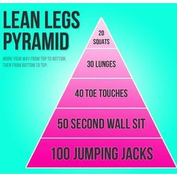 Lean Legs Exercises credit: http://instagram.com/cleaneatz