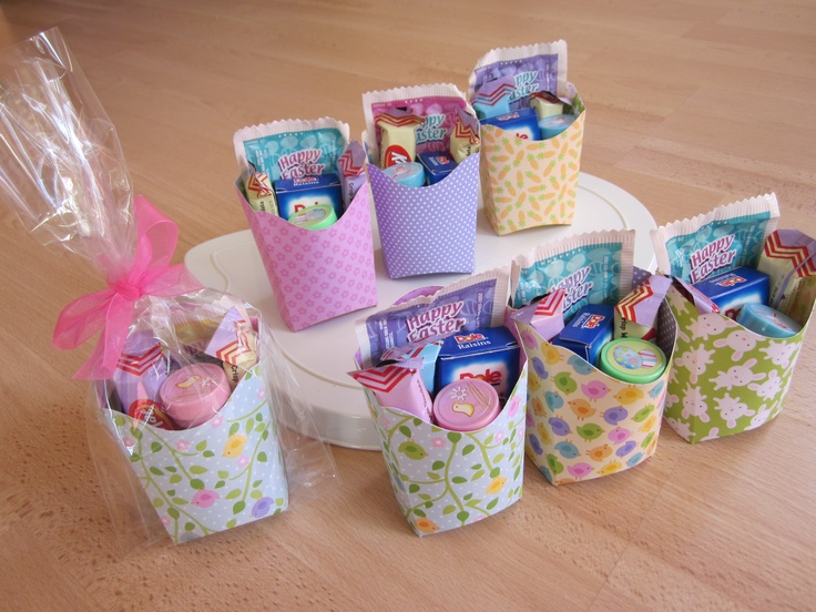 14 best goody bags images on pinterest easter eggs goody bags actually i made these easter goody bags for elles preschool class negle Images