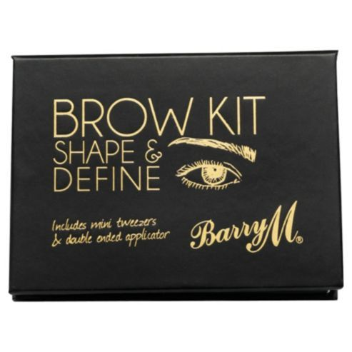 Thin brows? Invest Barry M Eye Brow Kit - it's a powder that will cling better to the hairs, giving the illusion of thicker brows. #BeautyTips