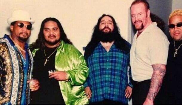 Ron Simmons, Yokozuna, Henry Godwinn, Undertaker and Rikishi WWF 1996