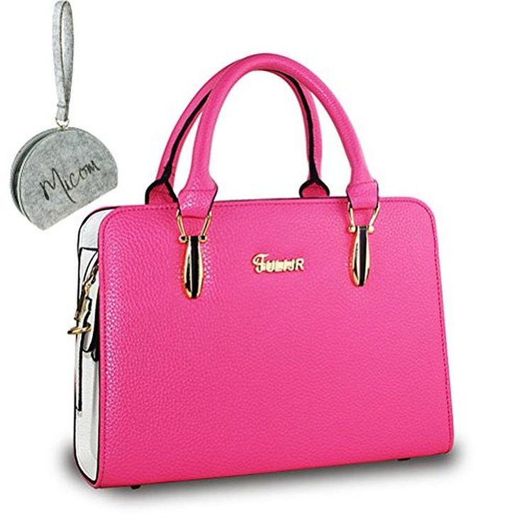 Micom Candy Color Women Pu Leather Handbags Women Shoulder Bag Messenger Bags