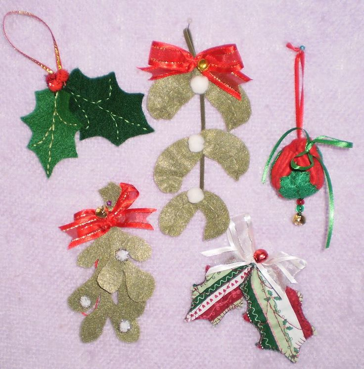 Lovely Handcrafted felt holiday tree decorations by LucieEllen Brookings will be availiable at the show too