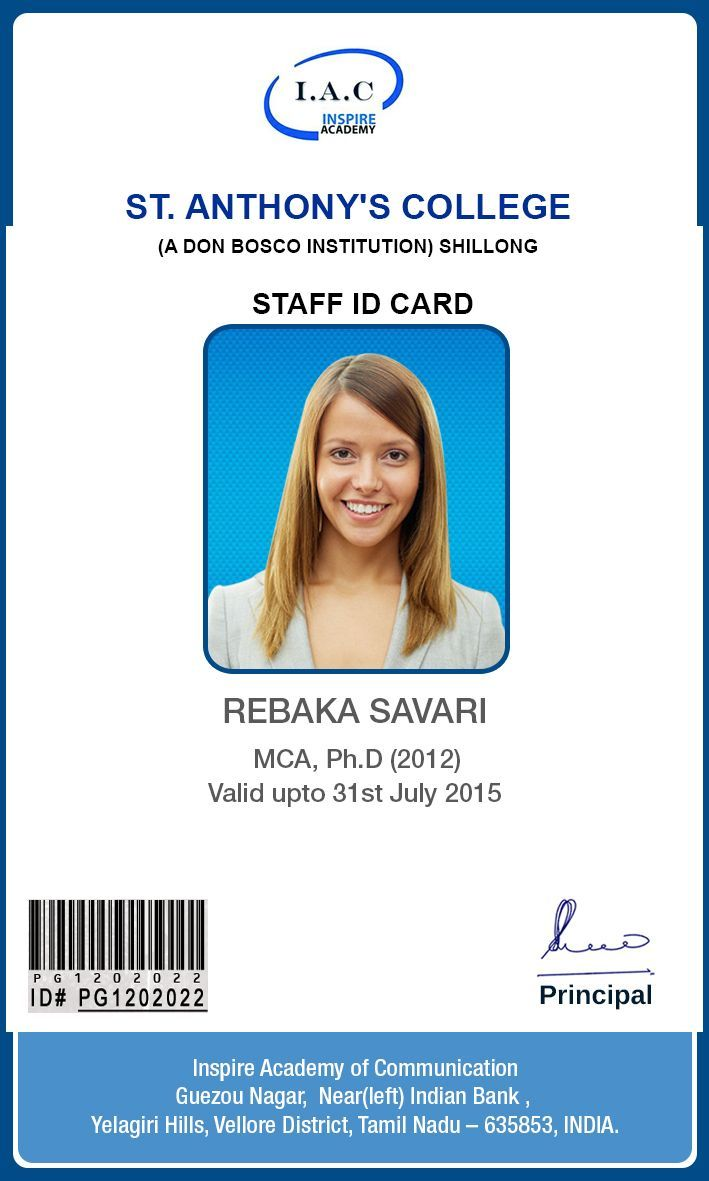 Id Card Designs Identity Card Design Id Card Template Pertaining To High School Id Card Template Cumed Org Identity Card Design Id Card Template School Id