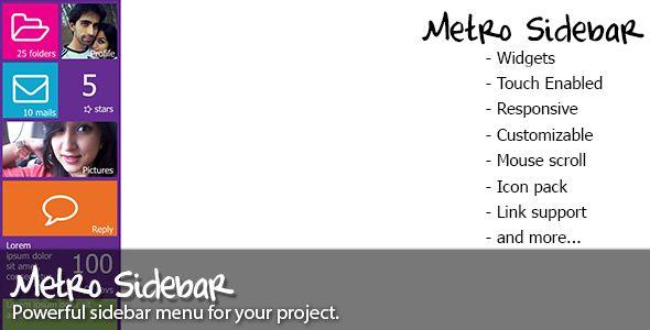 Metro+Sidebar