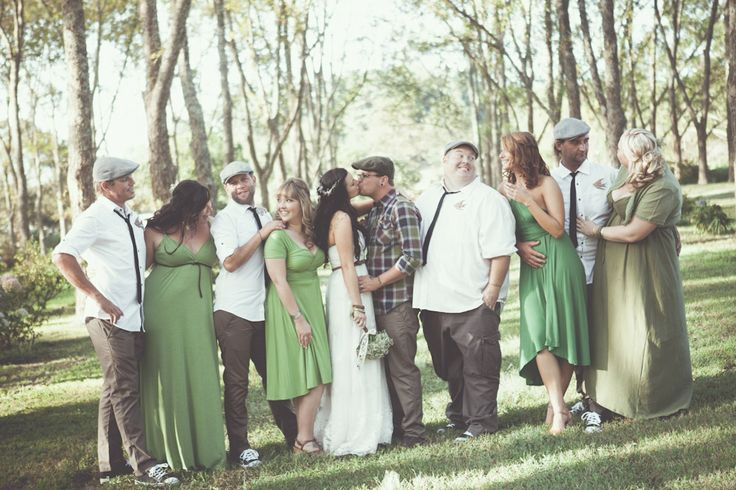 South African Woodland Wedding: Terri  Brad  My friend's Terri and Brad: their wedding earlier in April. It was an honour to be chosen as a bridesmaid and to be a part of the special day!  Well done to my friends for being featured on the Rock N Roll Bride Blog :) What an accomplishment xxx