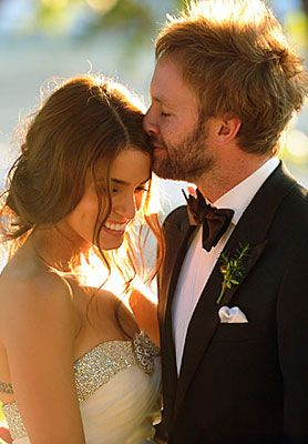 Paul McDonald and Nikki Reed. You can tell they adore each other. They're so cute together. I love them so much.