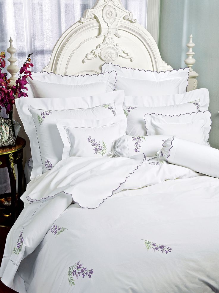 Bianca - Fine Bed Linens - The softest, most inviting Egyptian cotton Percale is painstakenly woven in Italy with your comfort in mind