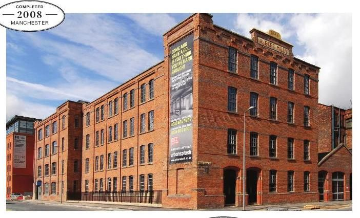 Albert Mill, Manchester, redeveloped by Urban Splash. From Warehouse Home Launch Issue http://issuu.com/warehousehome/docs/warehouse_home_launch_issue/c/slbw6eq