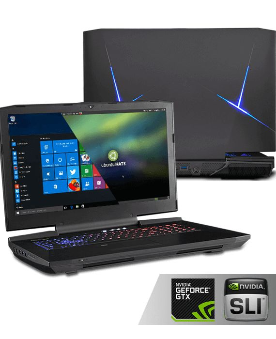 Clevo P870DM3 4K 17.3″ GTX-1080 SLI Extreme Game laptop