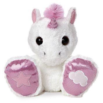 Rainbow Stuffed Unicorn - Set Of 2