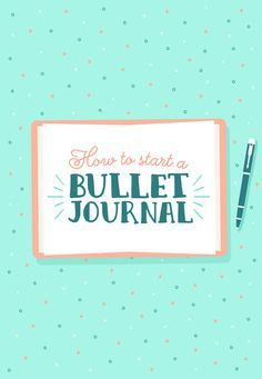 WTF Is A Bullet Journal® And Why Should You Start One? An Explainer Buzzfeed. #bulletjournal #bujo #bulletjournaling