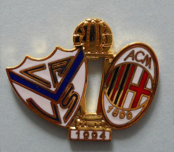 DISTINTIVO PIN - VELEZ SARSFIELD-MILAN - FINALE COPPA INTERCONTINENTALE 1994