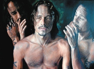2008 Archibald People's Choice Award; 'Heath Ledger,' by Vincent Fantauzzo