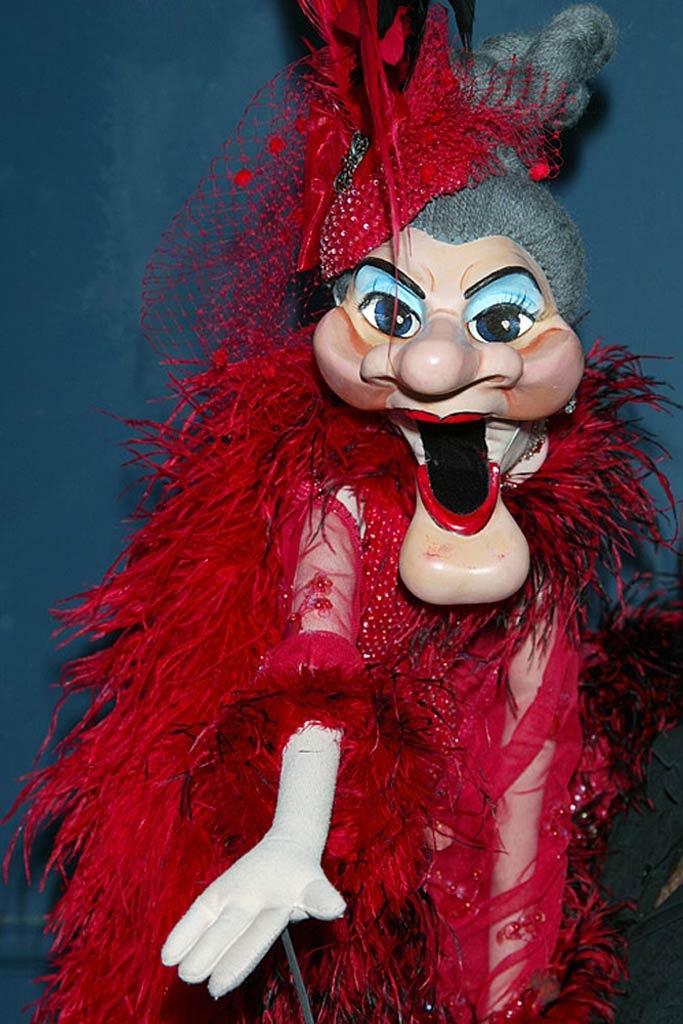 Celebrity puppet madame wayland