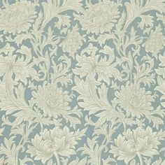 William Morris Chrysanthemum Toile (Engelska Tapetmagasinet)