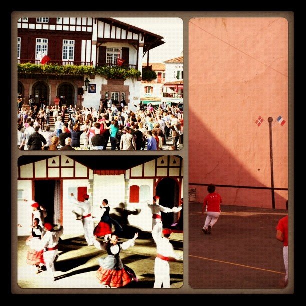 Danses Basques Mutxiko et Pelote