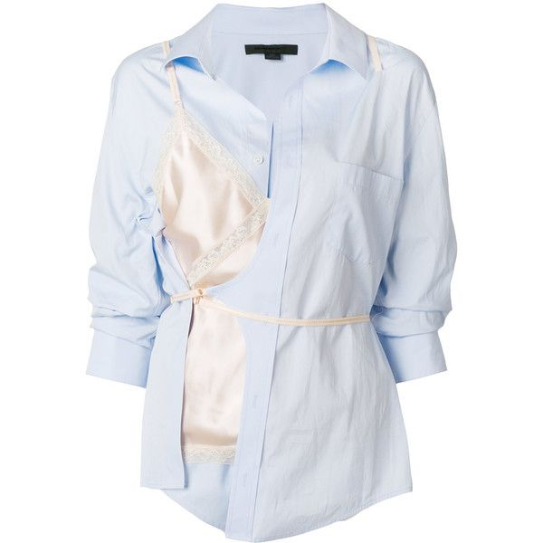 7fe628bae8 Alexander Wang hybrid shirt ( 1
