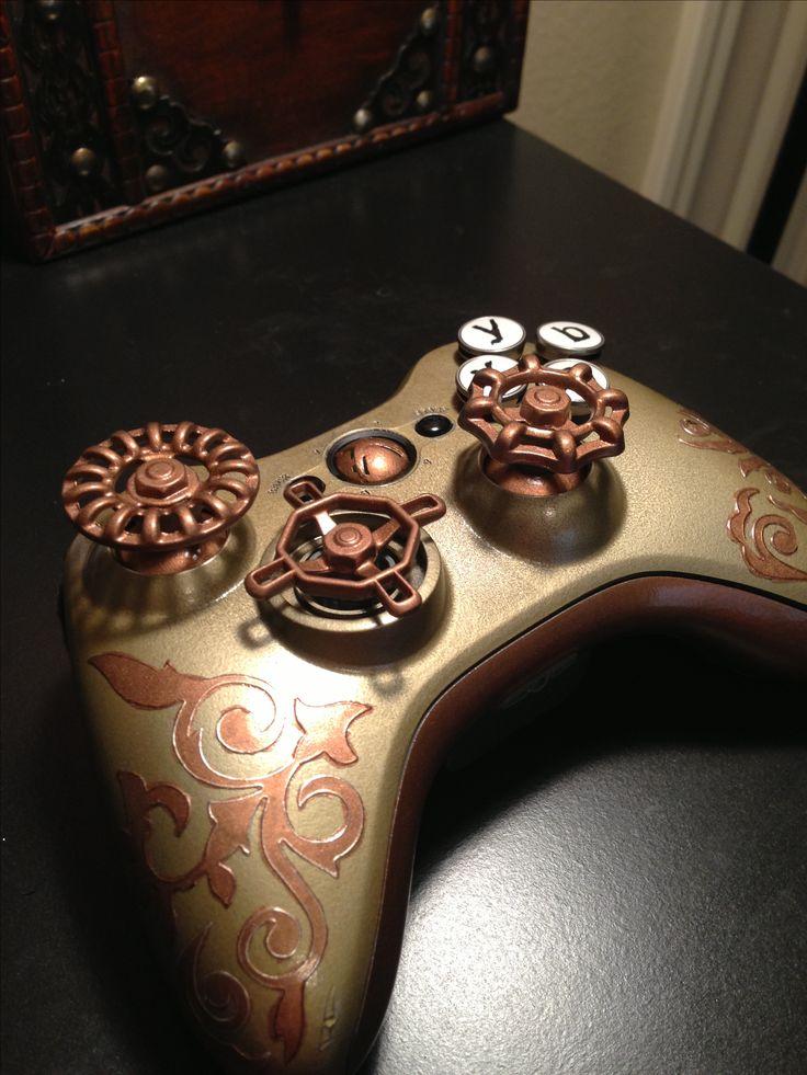 Steampunk Xbox 360 controller