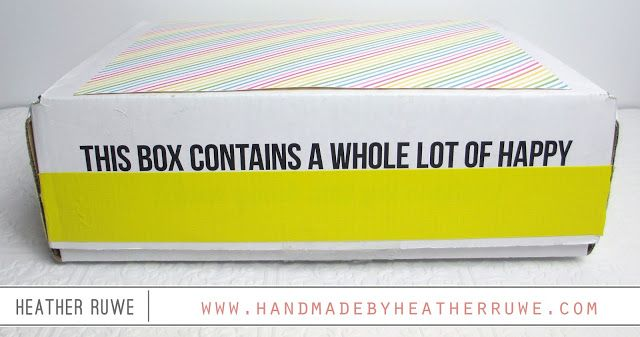Handmade by Heather Ruwe: Sunshine Boxes (plus GIVEAWAY)