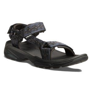 Teva Men s Terra FI 4 Sandal The Teva Men s Terra FI 4 Sandal is an incredibly stylish comfortable active trekking sandal that offers support and grip making them ideal for walking in this summer The Terra FI 4 has three Velcro a http://www.MightGet.com/january-2017-11/teva-men-s-terra-fi-4-sandal.asp