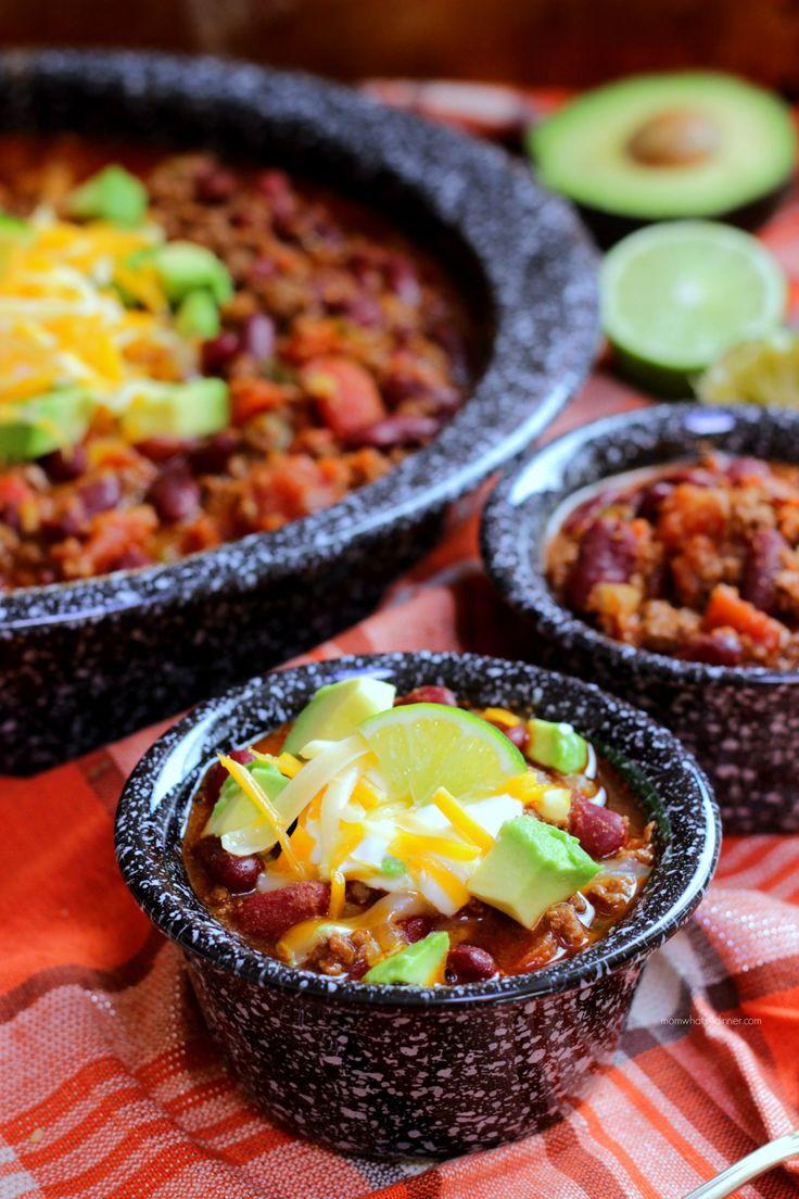 Chili, Beef Chili, Ricardo, Ricardo Cuisine, Ricardo Recipes