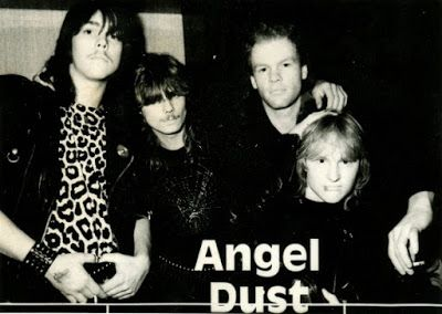 Heavy Metal Realm: Angel Dust (Ger) - Come Into Resistance, Excellent Futuristic Power Metal from Germany!