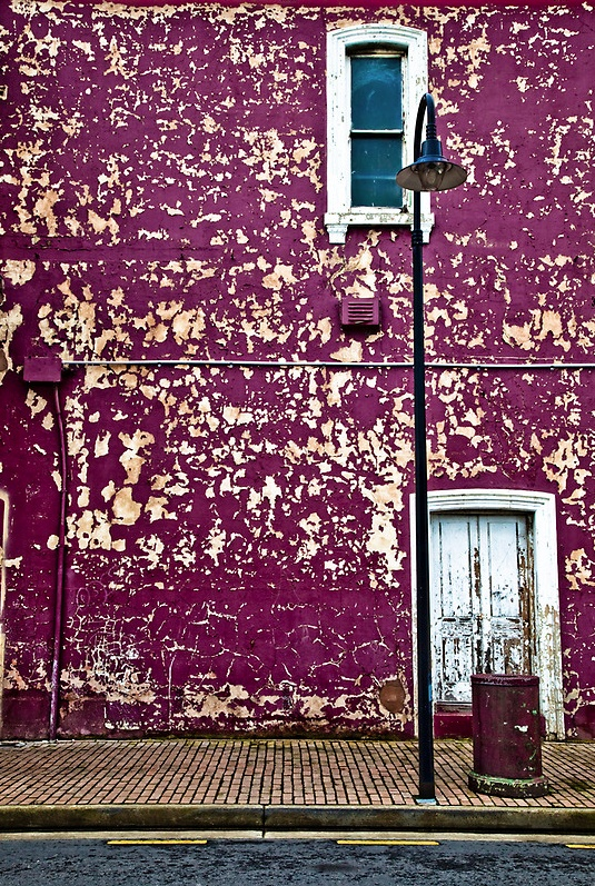 #purple wall. Port Adelaide, South Australia photography by Joslin Hartley