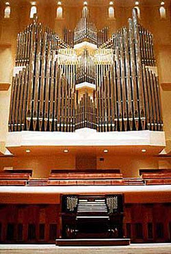 1984 Ruffatti Organ At Davies Symphony Hall San Francisco California