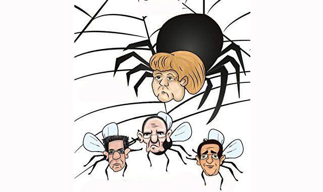 Ein Leitfaden zur Abschaffung der Demokratie: Nach zehn Jahren Sozialismus unter Bundeskanzlerin Angela Merkel ist von Deutschland nur noch ein ausgelaugter, sterbender Torso übrig geblieben. Das D…