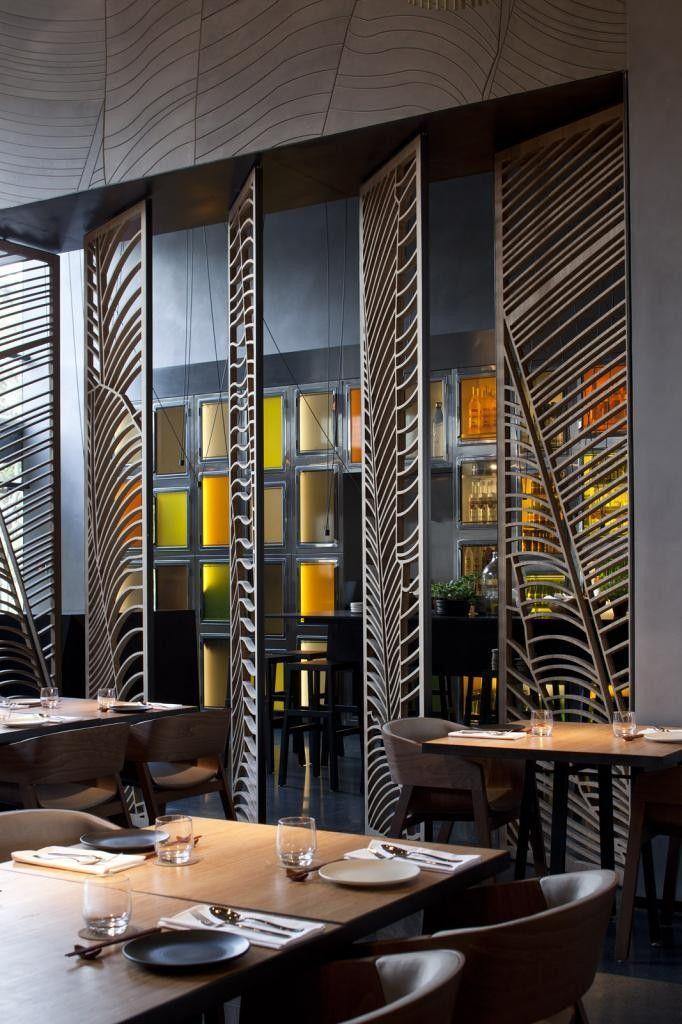luxury modern interior design taizu asia terranean kitchen by pitsou kedem architects and baranowitz amit studio - Beaded Inset Restaurant Decoration