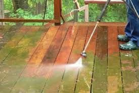 How to Clean a Cedar Deck Cleaning a cedar deck requires a bit more care than cleaning other types of decks. Cedar decks can be particularly beautiful if cared for properly. Plan on cleaning your cedar deck in the spring and fall each year, but plan on sealing the deck every other spring. This will ensure that your cedar deck stays in good repair for years to come.  Read more: http://www.pressurewasherguides.com/how-to-clean-cedar-deck/