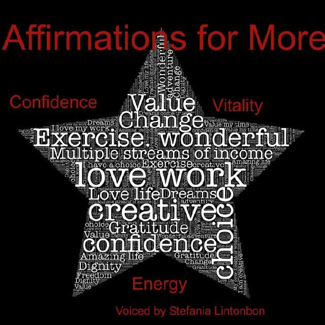 Affirmations for More Confidence, Vitality and Energy