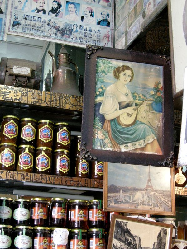 An old 'Greek' kafeneio, a place of so many human emotions; more than words can say