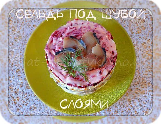 Подробный классический рецепт селедки под шубой: слои, праздничное оформление, пошаговые фото. Как приготовить вкусно, шуба с яблоком, с лимоном, без майонеза