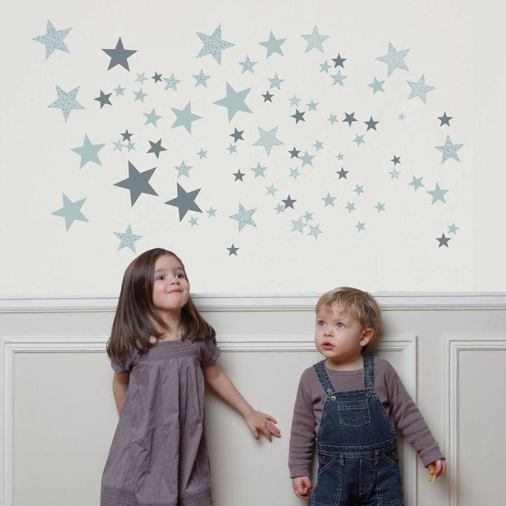 Pour décorer le mur de la chambre d'un enfant et apporter de la gaieté et de la poésie, les stickers Constellation vertede la marque Art for Kids seront les bienvenus !