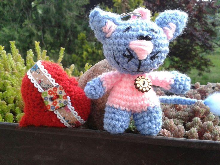 Crochet amigurumi mywork handmade cat
