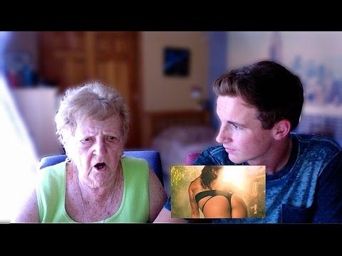 "Kevin Droniak is a hilarious 17-year-old who interviews his grandma about pop culture. This time, he decides to show her Nicki Minaj's ""Anaconda"" music video. You won't be disappointed. 
