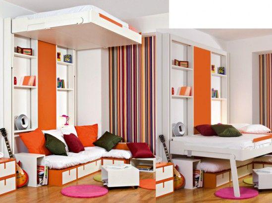 78 best id es propos de lit escamotable plafond sur for Lits escamotables plafond